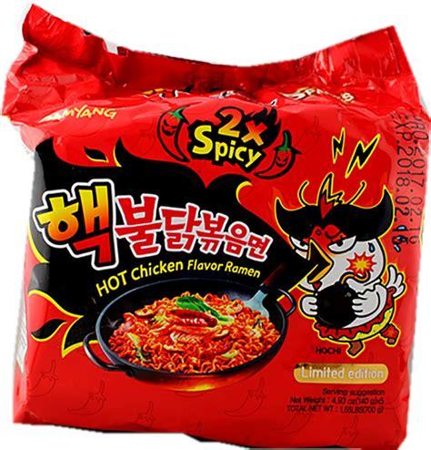 Md Samyang 2x Spicy Spicy samyang coreia macarr 227 o 2x picante desafio sabor
