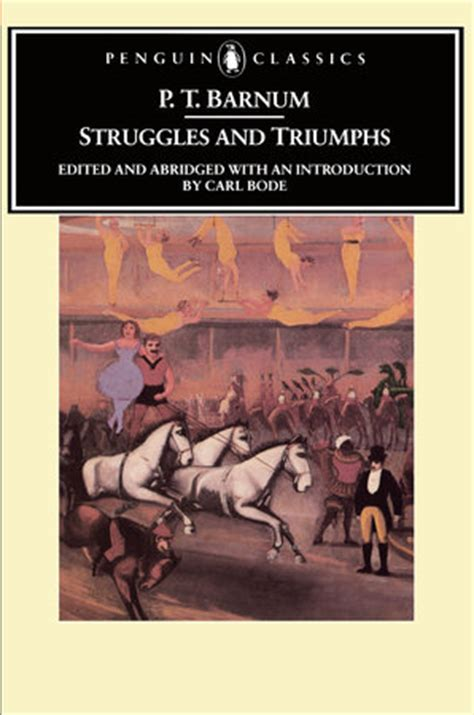 the of p t barnum collins classics books struggles and triumphs by p t barnum