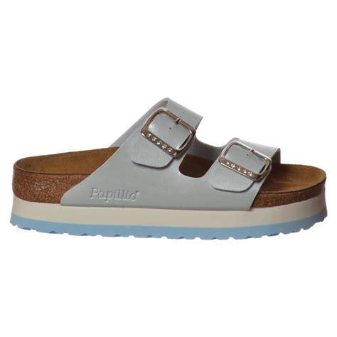 Sandal Wedges Ls03 Hitam 69 birkenstock papillio arizona wedge platform standard fitting flip flop sandal ebay