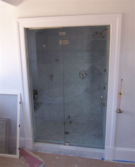 Frameless Steam Shower Doors Door Panel Shower Door King Shower Door Installations
