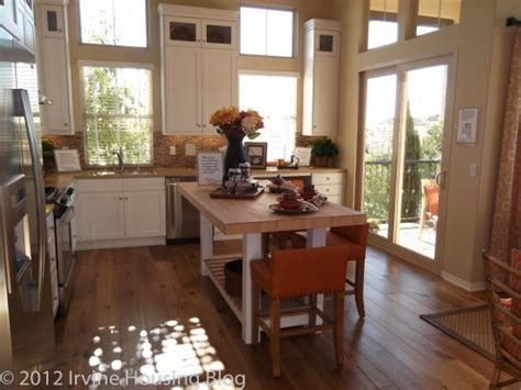 kitchen island instead of table a review of the santa tract at stonegate irvine
