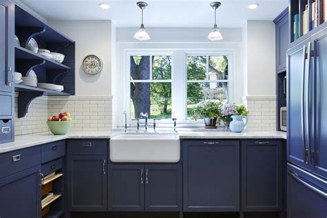 blue cabinets in kitchen beautiful blue kitchen design ideas