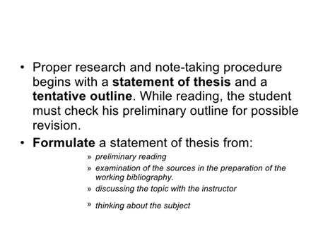 formulating a thesis formulating thesis statement 28 images help