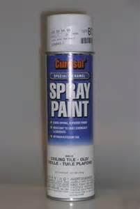 spray paint ceiling tile white 20 oz aerosol qty 12