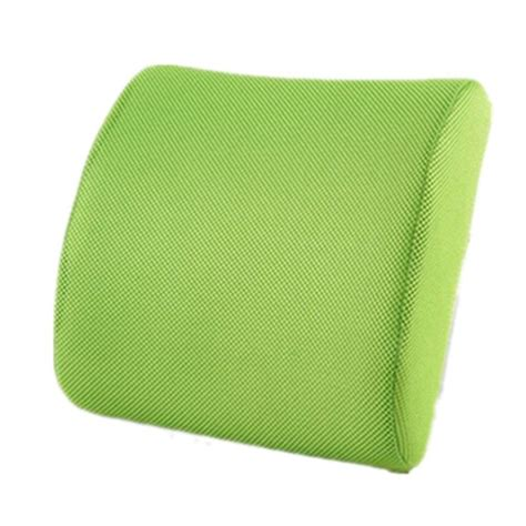 Omni Cervical Ease Tractioning Pillow by Back Support Cushion Pillow Memory Foam Lumbar Office Home
