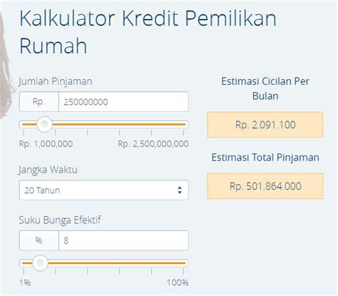 kalkulator kredit mengajukan kpr online ini lho keuntungannya