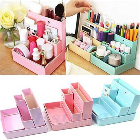 How To Make A Desk Out Of Paper - diy paper desk organizer room decor diy
