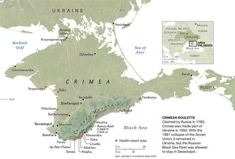 maps russia crimea history of crimea in six maps nat geo education