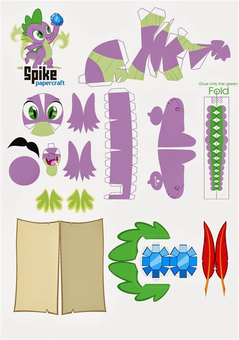 My Paper Crafting - equestria papercraft do mlp