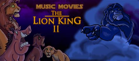 film the lion king 2 music movies the lion king ii by namingway on deviantart