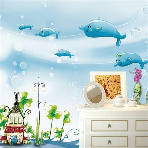 wallpaper custom anak aliexpress com beli gratis pengiriman besar mural kamar