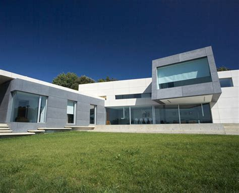 concrete house designs modern contemporary architecture in spain concrete