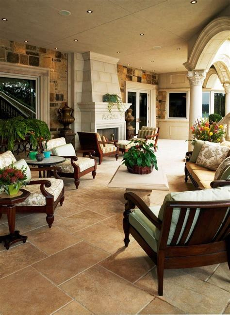 outdoor living rooms travertine ta 88 best travertine store images on pinterest