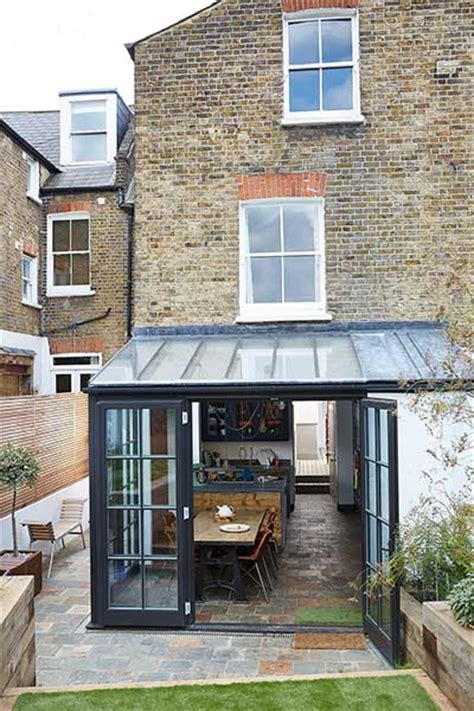 Doors Without End Alternatives glazed extension to an edwardian terraced house real homes