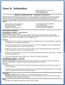 Resume Keywords For Customer Service by Insurance Claims Processor Resume Examples Resume Downloads