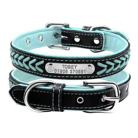 personalized collars personalized engraved id collars
