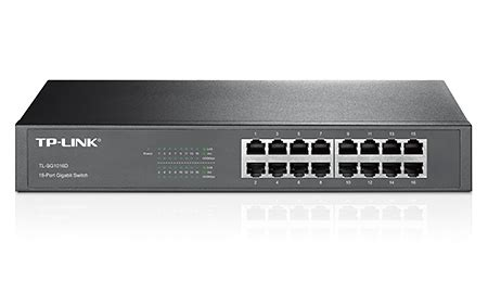 tp link 16 port gigabit rackmount switch