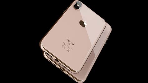apple iphone xs max gold uhd 4k wallpaper pixelz