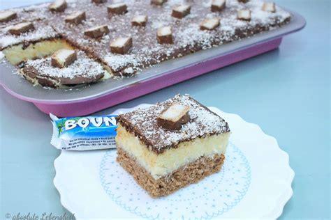 bounty kuchen bounty kuchen rezept als blechkuchen oder f 252 r die