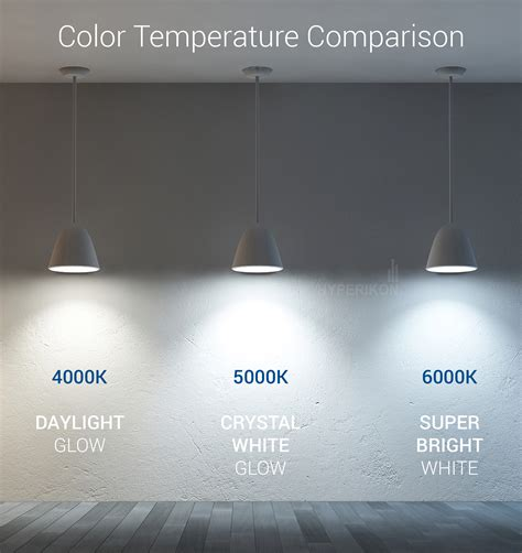 6000k color 5000k light color temperature www lightneasy net