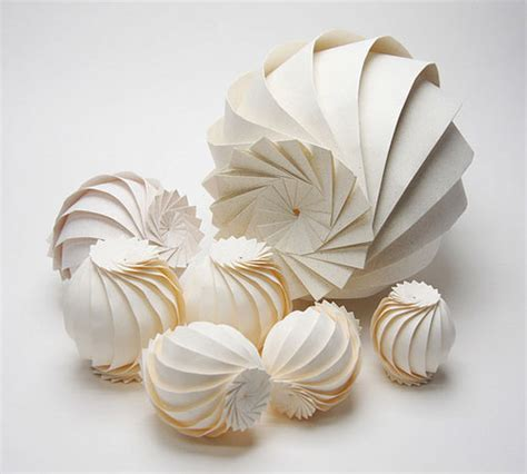 3d paper craft 3d origami by jun mitani design milk