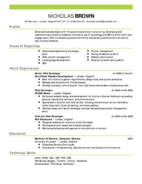Modelos De Curriculum Vitae Para Completar En Ingles Modelo De Curriculum Vitae Ingles Modelo De Curriculum Vitae