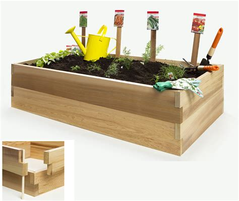 Raised Garden Planter Boxes by Raised Garden Vegetable Boxes By All Things Cedar Planter Kits