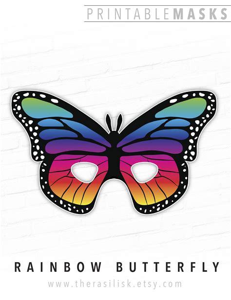 butterfly mask printable uma printable