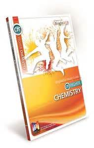 higher chemistry for cfe brightred publishing cfe higher chemistry