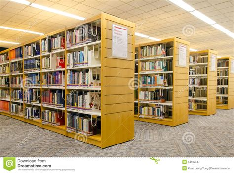 reference section in library modern library editorial photography image 54102447