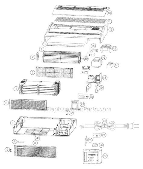 oreck air8b parts list and diagram ereplacementparts
