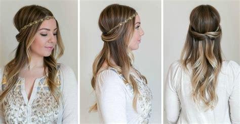 Frisuren Lange Haare Halboffen by 24 Herrliche Ideen F 252 R Effektvolle Frisuren Mit Haarband