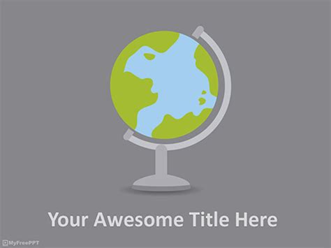 Free Global Powerpoint Templates Themes Ppt Geography Powerpoint Templates