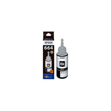 Tinta Epson T6641 Tinta Epson T6641 Color Negro Botella De 70 Ml C13t664140