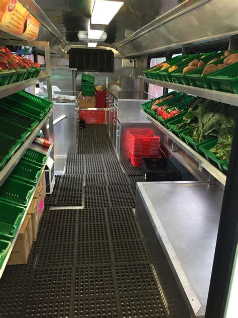 mobile market mobile market delivers fresh fruits and vegetables to