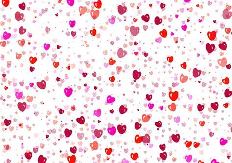 De Corazones Rosas Y Rojos Sobre Un Fondo Blanco Imagenes Sin | imagenes sin copyright textura de corazones rosas y rojos
