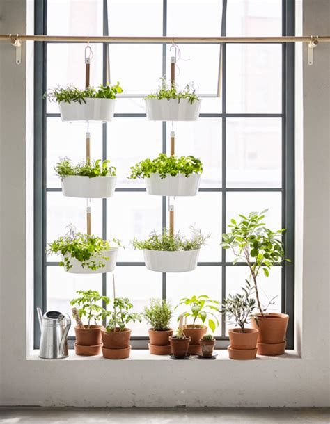vertical garden for small plants or herbs ikea hackers ikea hackers 10 best diy ikea indoor garden spaces home design and