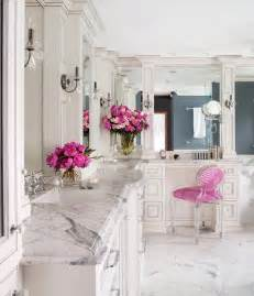 beautiful and luxury bathroom with marble