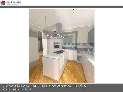 progetto cucina soggiorno unifamiliare di v a progettazione soggiorno con cucina