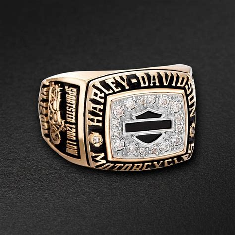 cool harley davidson wedding rings for your special day