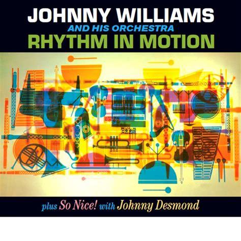 Cd The Rhythm 2 Album In 1 johnny williams rhythm in motion so 2 lp on 1 cd