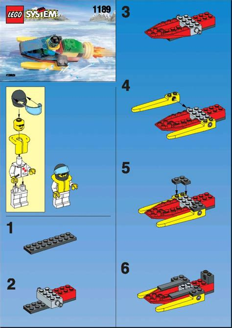 lego boat step by step old lego 174 instructions letsbuilditagain
