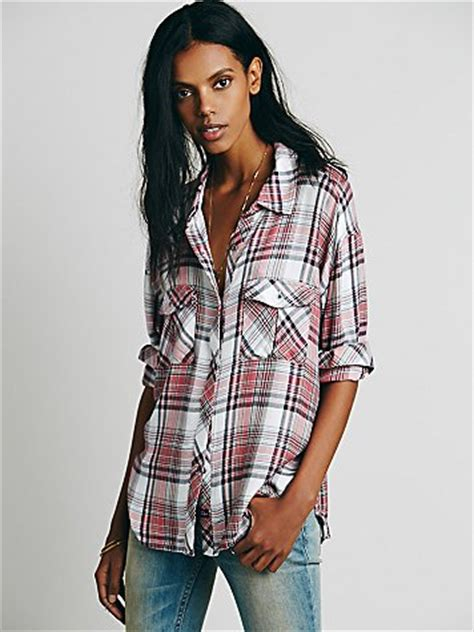 Draped In Plaid by Rails Draped In Plaid Shirt At Free Clothing Boutique