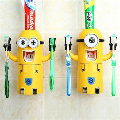 funny bathroom accessories wholesale minions toothbrush holder kids funny bathroom