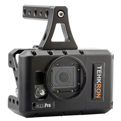 Gopro Canon the cagepro lets you add a canon dslr battery to your gopro