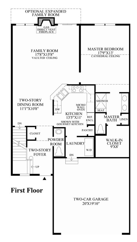 tamarack floor plans ridgewood at middlebury the tamarack home design