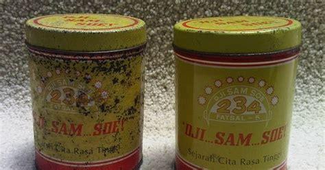 Dji Sam Soe Kemasan Kaleng karya babah antik kaleng rokok dji sam soe 234