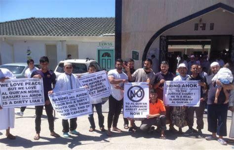 ahok news international 38 ormas muslim australia ikut mendemo ahok okezone news