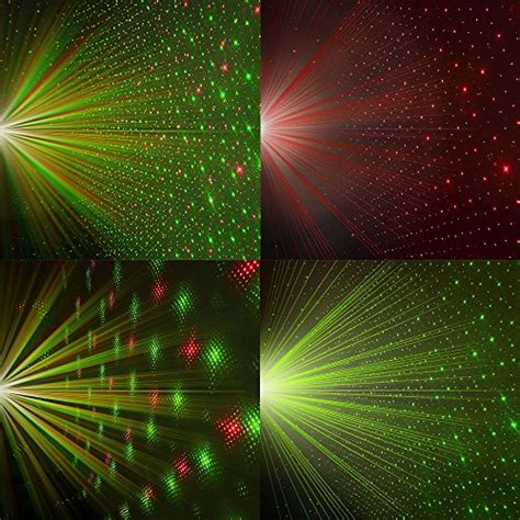 innoolight laser christmas lights show red  green ip