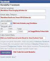 buat akun facebook di opera mini cara mudah daftar facebook via opera mini hp download